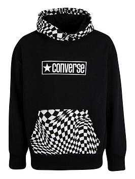 converse-younger-boys-checker-pullover-hoodie-black