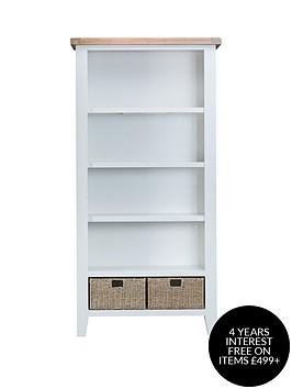 k-interiors-harrow-ready-assembled-large-bookcase-whiteoak