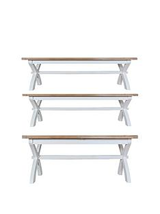 k-interiors-harrow-180-230-cmnbspextendingnbspdining-tablenbspamp-2-benches-greyoak