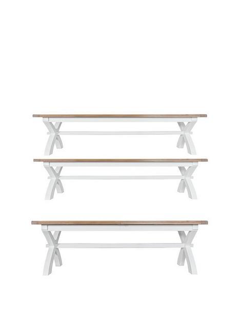 k-interiors-harrow-250-300-cmnbspextending-dining-table-2-benches-whiteoak