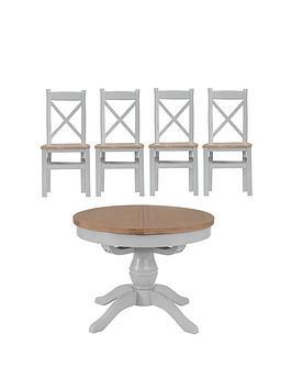 k-interiors-harrow-round-110-145-cmnbspextending-dining-table-4-chairs-greyoak