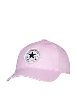 converse-younger-chuck-patch-curved-brim-cap-pink