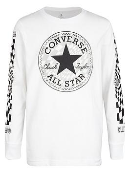 converse-converse-younger-boys-warped-checker-chuck-patch-gradient-tee