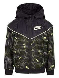 nike-younger-boys-full-zip-windrunner-jacket-black