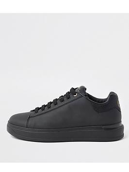 river-island-lace-up-wedge-sole-trainers-blacknbsp