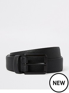 river-island-matte-saffiano-belt-black