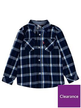 levis-boys-long-sleeve-check-shirt