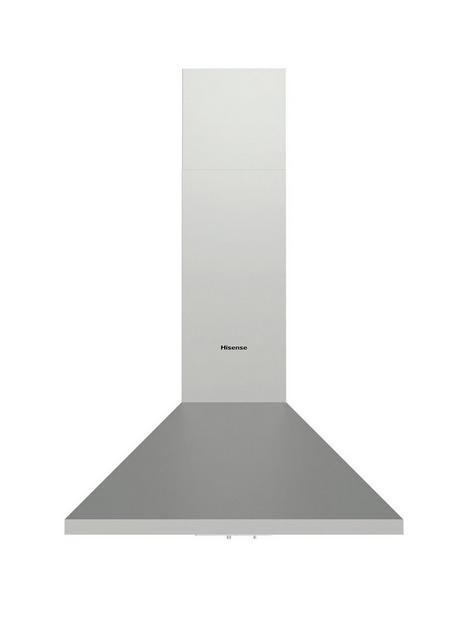 hisense-ch6c4axuk-60cm-width-chimney-hood-stainless-steel