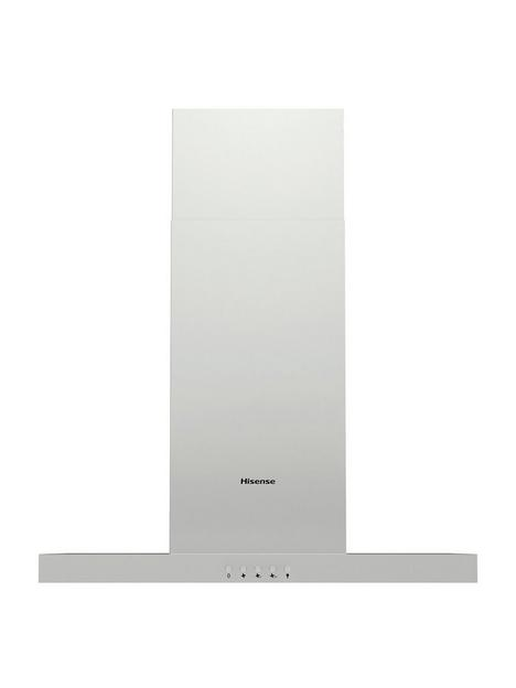 hisense-ch6t4bxuk-60cm-wide-t-shaped-chimney-hood-stainless-steel