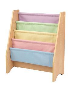 kidkraft-sling-bookshelf-pastel