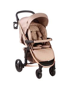 my-babiie-dreamiie-mb200-mocha-monogram-pushchair