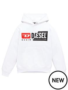 diesel-boys-double-logo-hoodie-white