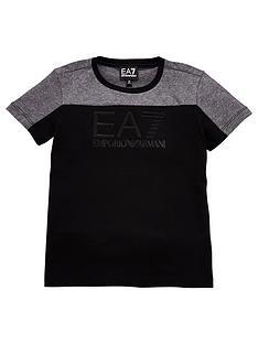 ea7-emporio-armani-boys-short-sleeve-colour-block-t-shirt-dark-grey