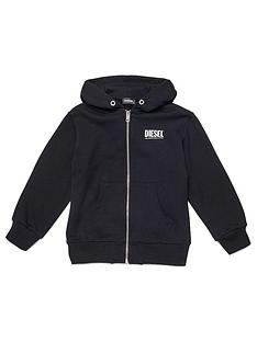 diesel-boys-zip-through-logo-hoodie-black