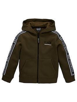 ea7-emporio-armani-boys-logo-taped-zip-through-hoodie-khaki