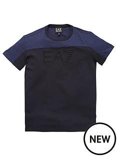 ea7-emporio-armani-boys-short-sleeve-colour-block-t-shirt-blue