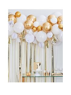 ginger-ray-gold-balloon-and-fan-garland-birthday-party-backdrop