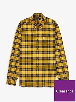 fred-perry-tartan-oxford-shirt