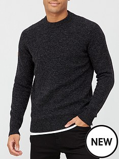 superdry-harlo-crew-neck-knit-jumper-black