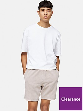topman-washed-jersey-shorts-brown