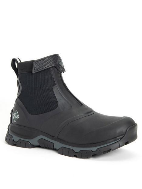 muck-boots-apex-short-boots-black