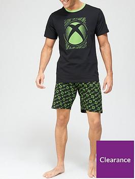 very-man-xboxnbsppyjama-set-blackgreen