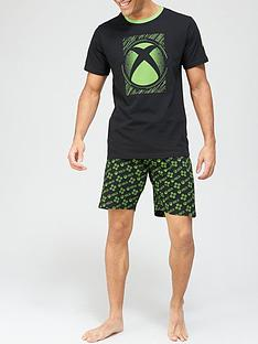 xbox-pyjama-set-blackgreennbsp
