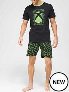 xbox-pyjama-set-blackgreennbsp