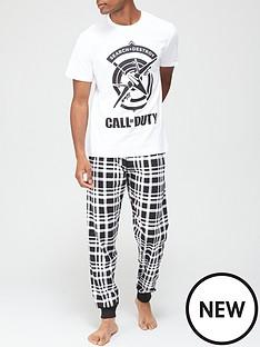 call-of-duty-printed-pj-set-whiteblacknbsp