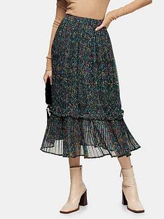 topshop-garden-floral-pleat-hem-skirt--nbspdark-green