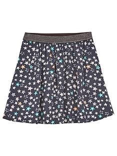 mintie-by-mint-velvet-girls-willow-star-print-skirt-grey