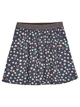 mintie-by-mint-velvet-girls-willow-star-print-skirt-grey