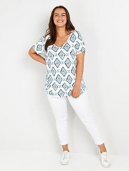 evans-batik-short-sleeve-t-shirt-whiteblue