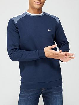 jack-jones-colour-block-crew-neck-sweatshirtnbsp