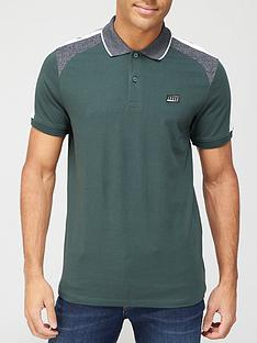 jack-jones-thomas-colour-block-polo-shirt-darkest-spruce