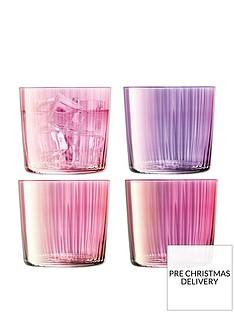 lsa-international-lsa-international-gems-tumbler-glasses-set-of-4