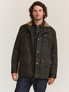 fatface-broadsands-wax-field-jacket-brownnbsp