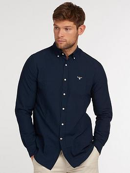 barbour-oxford-tailored-shirt-navynbsp