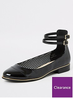 river-island-ankle-strap-ballet-shoe-black