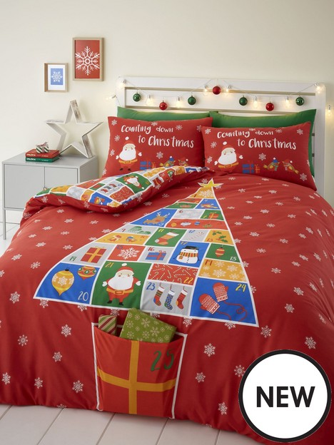 catherine-lansfield-countdown-to-christmasnbspduvet-cover-set