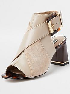 river-island-buckle-detail-shoe-boot-beige