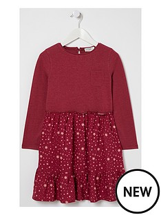 fatface-girls-olivia-star-print-dress-berry