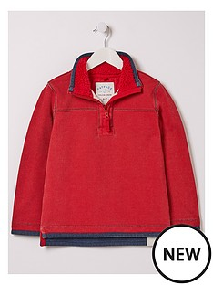 fatface-boys-plain-airlie-over-the-head-top-deep-red