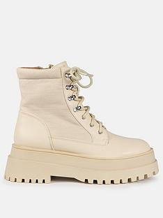 missguided-missguidednbspfaux-leather-canvas-panel-chunky-boots-cream