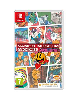 nintendo-switch-namco-museum-archives-volume-1-code-in-box