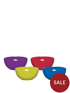 colourworks-brights-melamine-bowls-ndash-set-of-4
