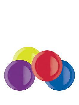 colourworks-brights-melamine-dinner-plates-ndash-set-of-4