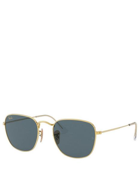 ray-ban-0rb3857-frank-sunglasses-gold