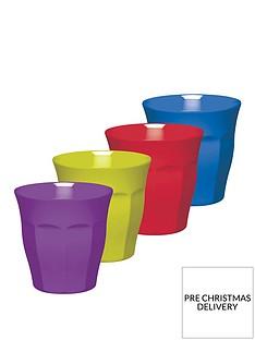 colourworks-brights-melamine-tumblers-ndash-set-of-4