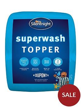 silentnight-superwash-mattress-topper